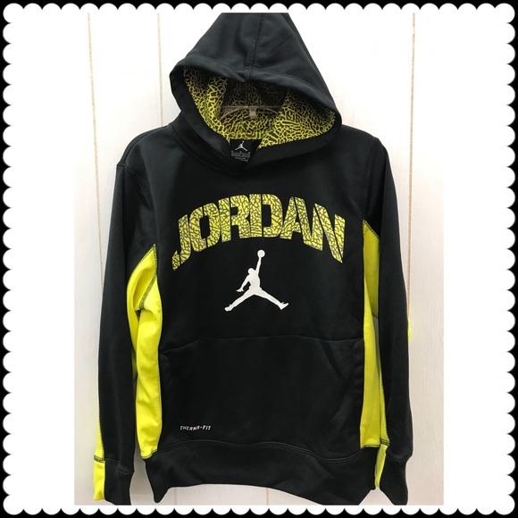 407fbe4bc36e36 Jordan Other - Boys JORDAN Hooded Sweatshirt Sz 10 12 Medium